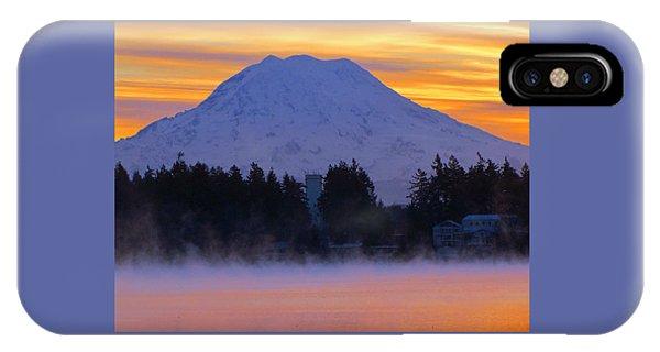 Fiery Dawn IPhone Case