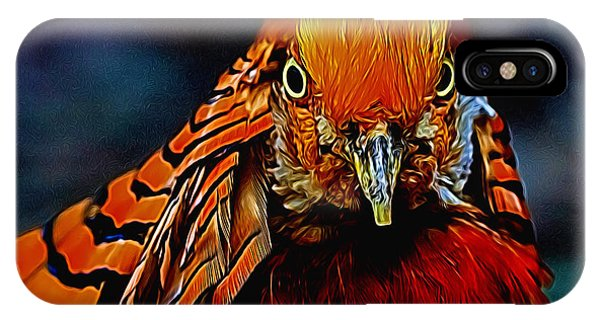 Fiery Pheasant IPhone Case