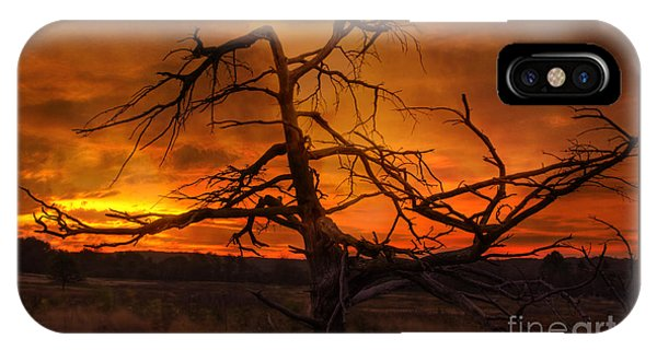 Fiery Sunrise IPhone Case