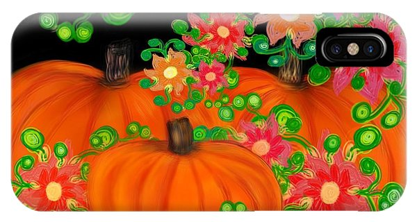 Fiesta Pumpkins IPhone Case