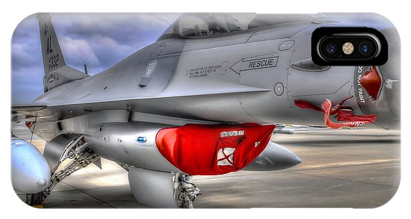 Fighting Falcon IPhone Case