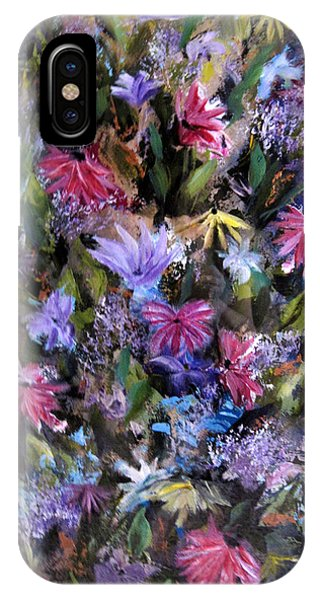 Fighting For Space Lll Flowerpatch Series IPhone Case