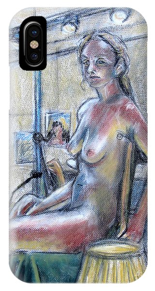Figure Drawing- Primary Colors  IPhone Case