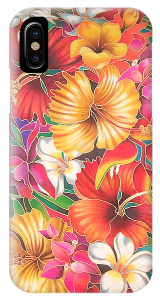 Fiji Flowers IIi IPhone Case