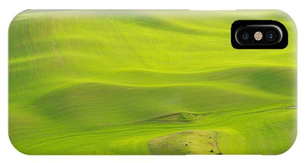 Fileds Of The Palouse IPhone Case