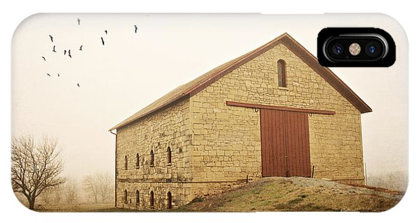 Filley Stone Barn 1 IPhone Case