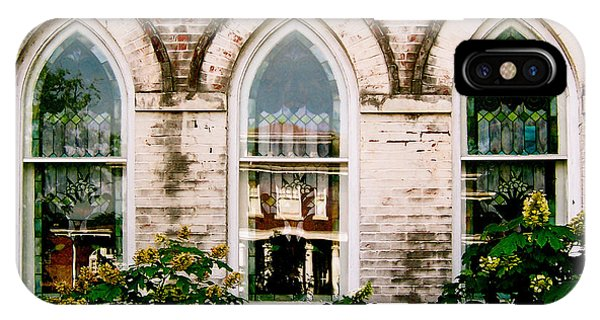 Fillmore Street Chapel Corinth Mississippi IPhone Case