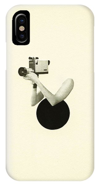 Film iPhone Case - Film Noir by Cassia Beck