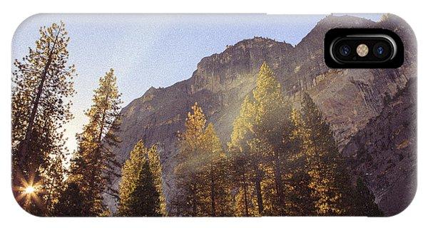 Morning Skies Of Yosemite IPhone Case