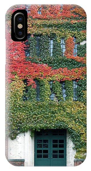 Final Farewell Wmu Dorm In Autumn Ivy IPhone Case