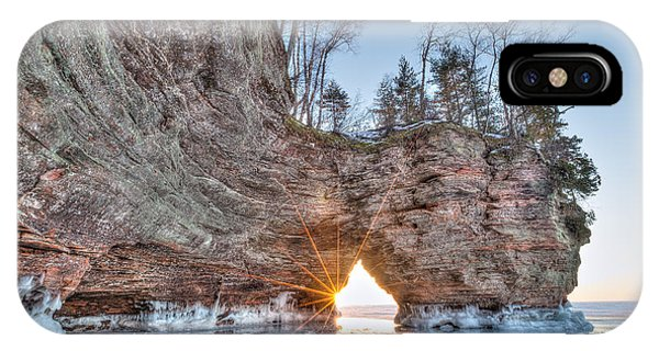 Final Sunset, Apostle Islands IPhone Case