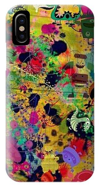 Find Me A Monster Phone Case by Denisse Del Mar Guevara