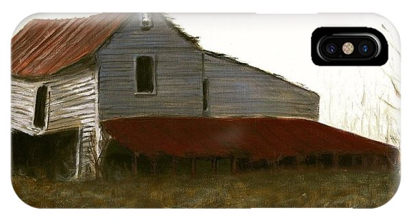 Fine Art Oil Painting North Carolina Barn IPhone Case