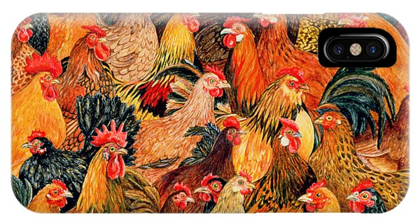 Rooster iPhone Case - Fine Fowl by Ditz