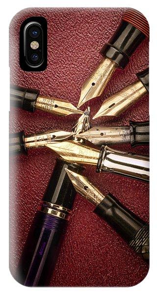 Ink iPhone Case - Fine Writing II by Tom Mc Nemar