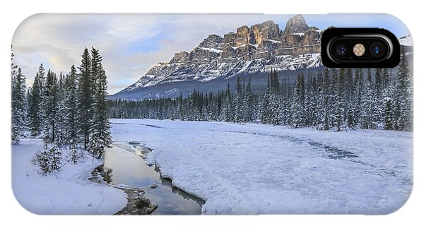 Banff iPhone Case - Finest Hour by Evelina Kremsdorf