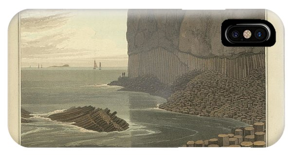Fingal's Cave On Staffa IPhone Case
