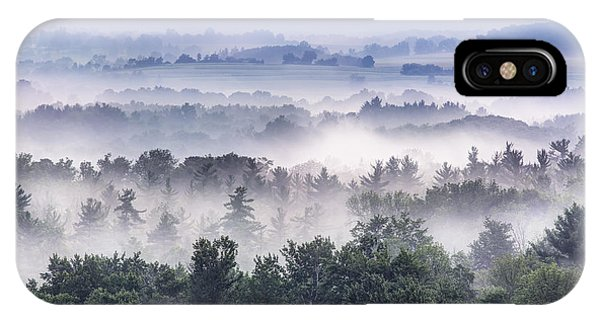 Finger Lakes Morning IPhone Case