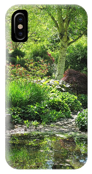 Finnerty Gardens Pond IPhone Case