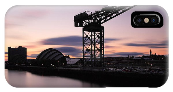 Finnieston Crane Glasgow  IPhone Case