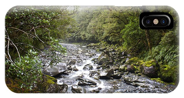Fiordland National Park New Zealand IPhone Case