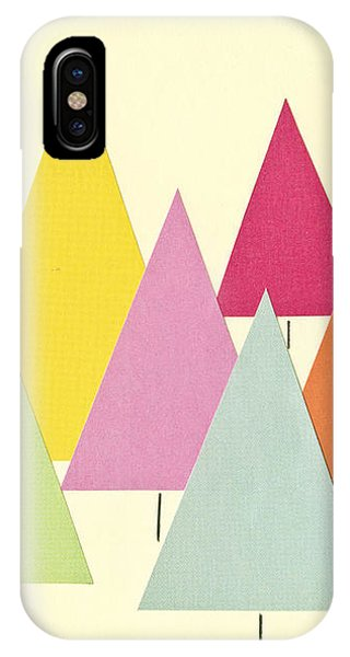 Simple iPhone Case - Fir Trees by Cassia Beck