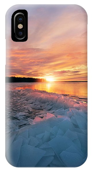 Freeze iPhone Case - Fire And Ice by Christian Lindsten