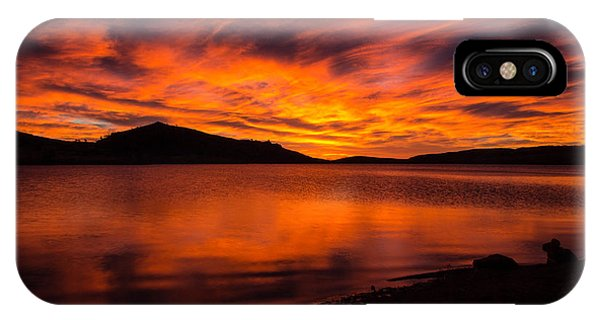 Fire At Dawn IPhone Case
