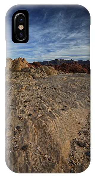 Valley Of Fire iPhone Case - Fire Canyon I by Rick Berk