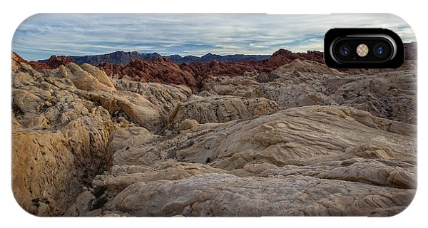 Valley Of Fire iPhone Case - Fire Canyon II by Rick Berk