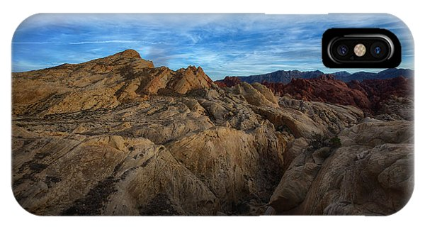 Valley Of Fire iPhone Case - Fire Canyon Twilight by Rick Berk