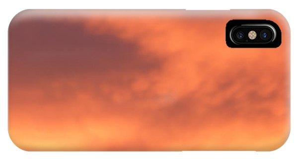 Fire Clouds IPhone Case