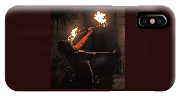 Fire Dancer IPhone Case