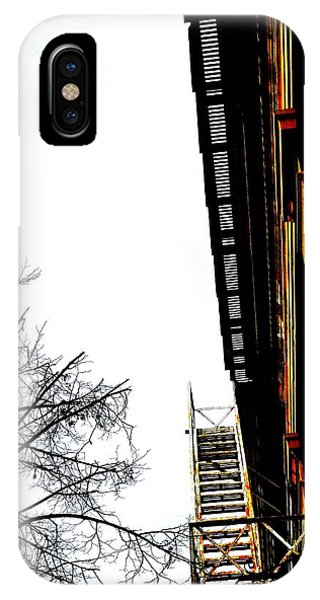 Fire Escape And Clock - Ontario - Canada IPhone Case