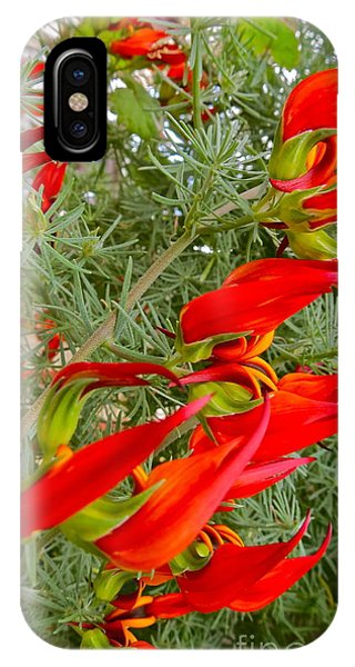 Fire Flowers IPhone Case