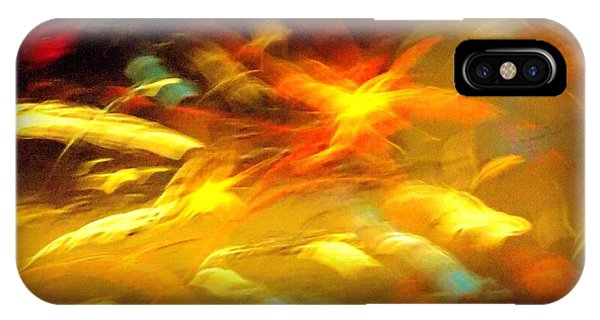 Fire In Motion IPhone Case