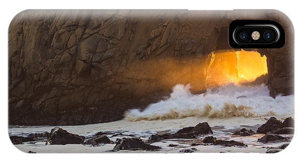 Fire In The Hole IPhone Case