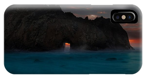 Fire In The Hole.... Big Sur IPhone Case