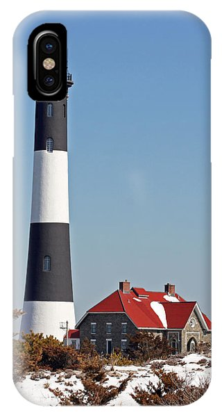 Fire Island Snow IPhone Case