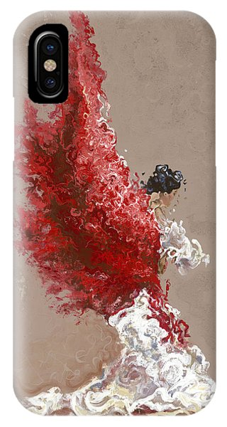 Sand iPhone Case - Fire by Karina Llergo