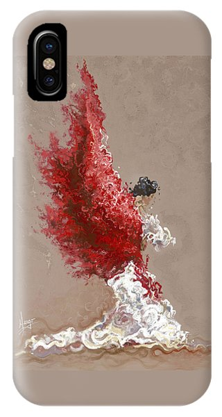 Figures iPhone Case - Fire by Karina Llergo