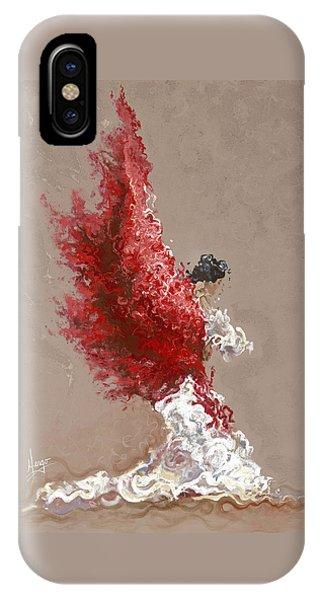Dance iPhone Case - Fire by Karina Llergo