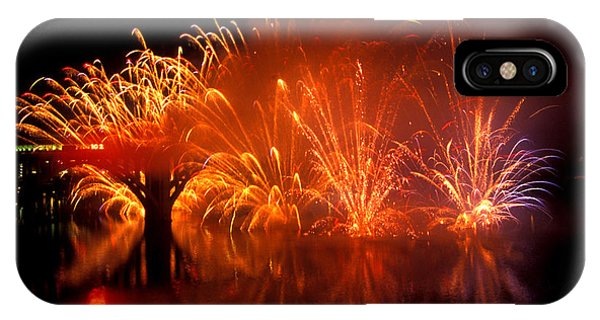 Fire On The Water IPhone Case