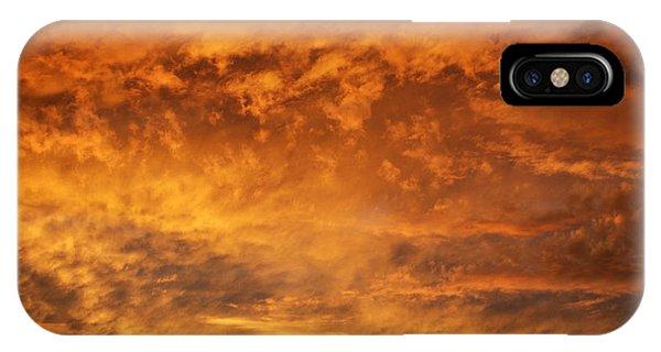Fire Sky Phone Case by Manda Renee