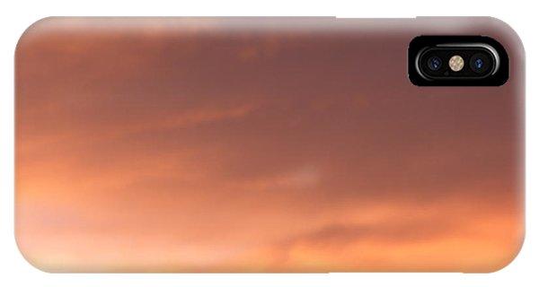 Fire Skyline IPhone Case