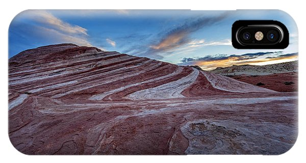 Valley Of Fire iPhone Case - Fire Wave I by Rick Berk