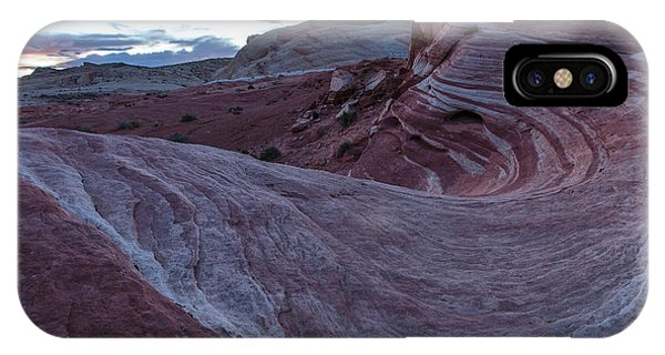 Valley Of Fire iPhone Case - Fire Wave II by Rick Berk