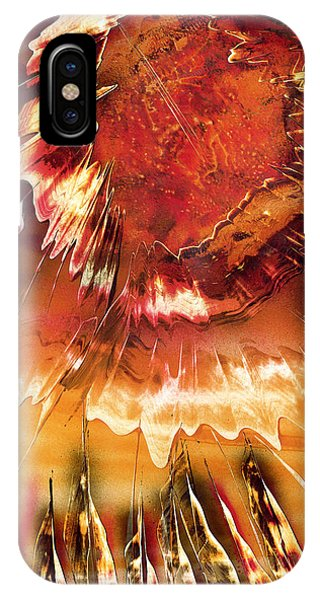 IPhone Case featuring the painting Fired by Jason Girard