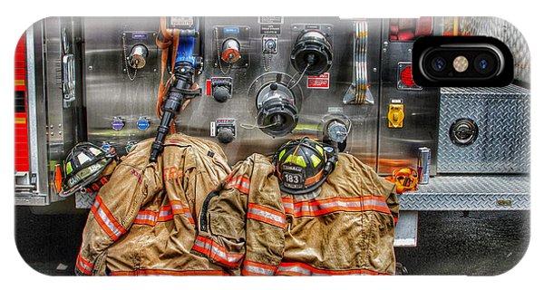 Firefighters Gear IPhone Case