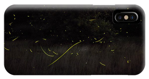 Firefly Traces On A Summer Night IPhone Case
